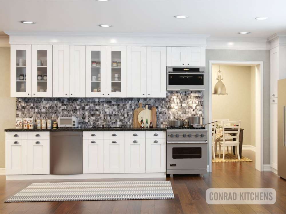 Usually Shaker Doors And Cabinets Have Variety In Colors. We Offer  Traditional White And Warm Cherry Colors. Our White Shaker Kitchen Is Known  As No Doubt ...